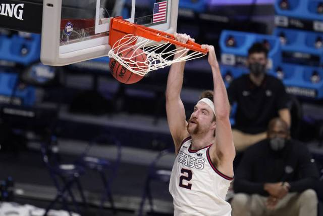 Men's NCAA Tournament capsules: Timme, top-seeded Gonzaga roll past Creighton to Elite Eight