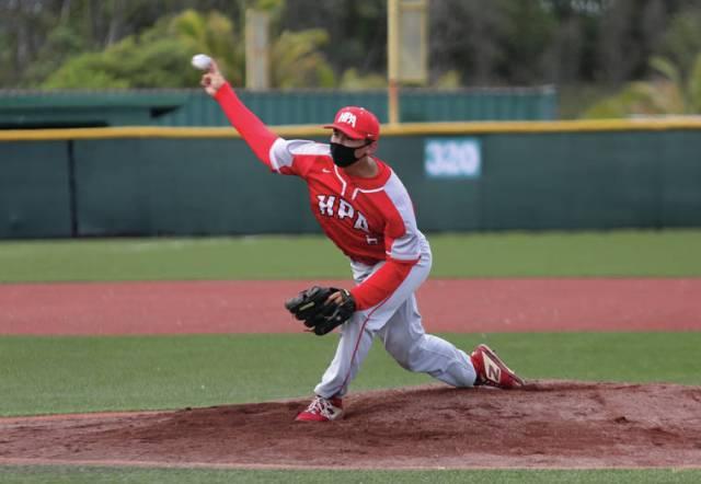 Thirteen is Heymann's lucky number for Hawaii Prep baseball