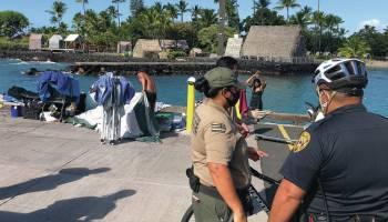 No temporary night closure of Kailua Pier, yet