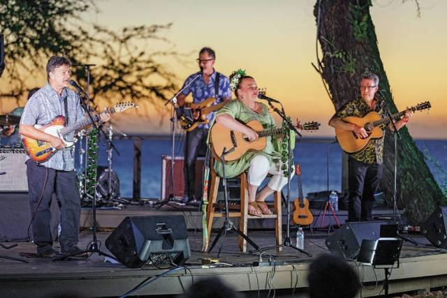 Hawaiian Style Band shines at shoreline concert