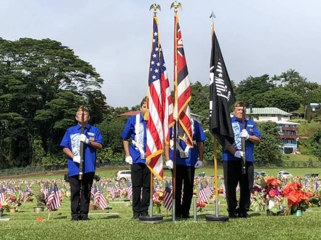 The Big Island commemorates Memorial Day in person