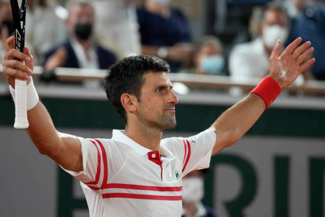 Djokovic hands Nadal 3rd loss in 108 French Open matches