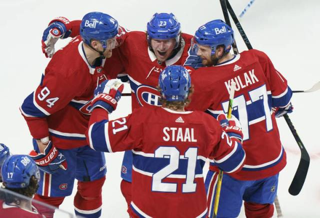 Stanley Cup Playoff capsules: Canadiens sweep Jets; Isles take 3-2 lead on Bruins