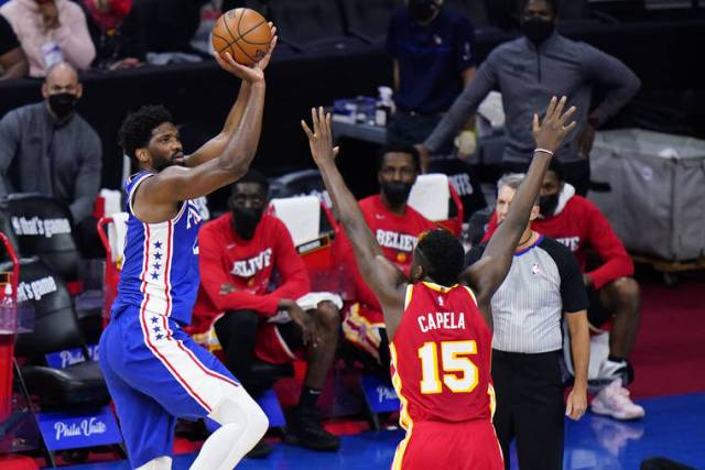 NBA playoff capsules: Embiid, Milton help 76ers even series with Hawks 118-102