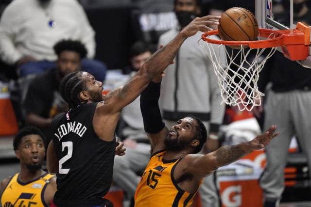 Leonard, George each score 31, Clippers tie series with Jazz