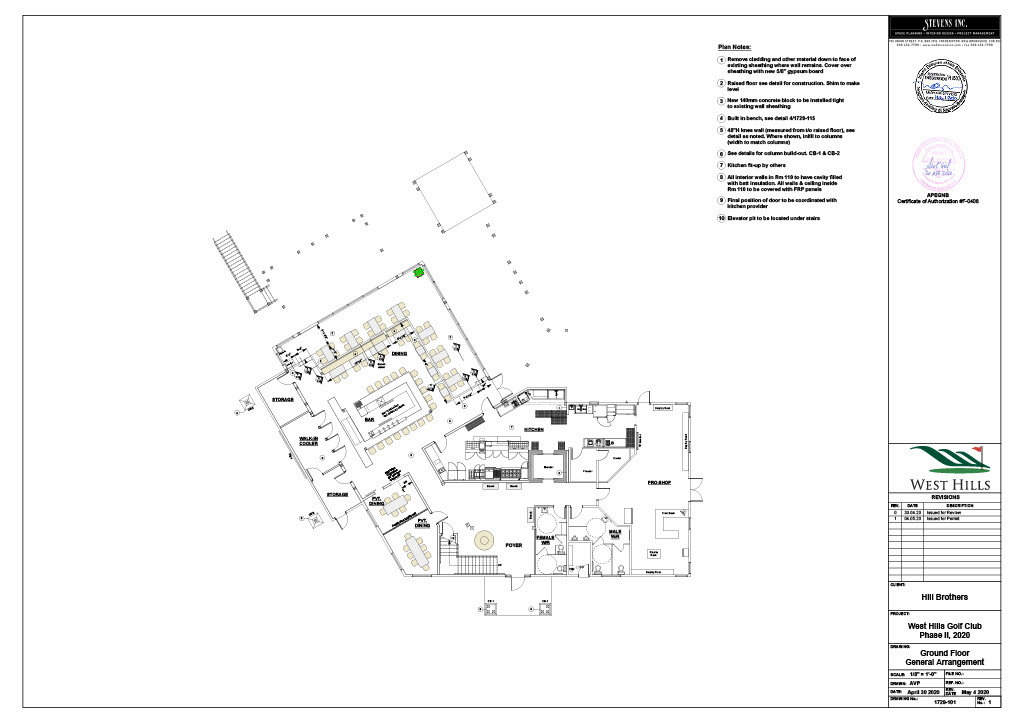 Clubhouse Phase 2 Plan