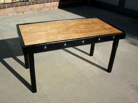 Wood Shop Work Tables