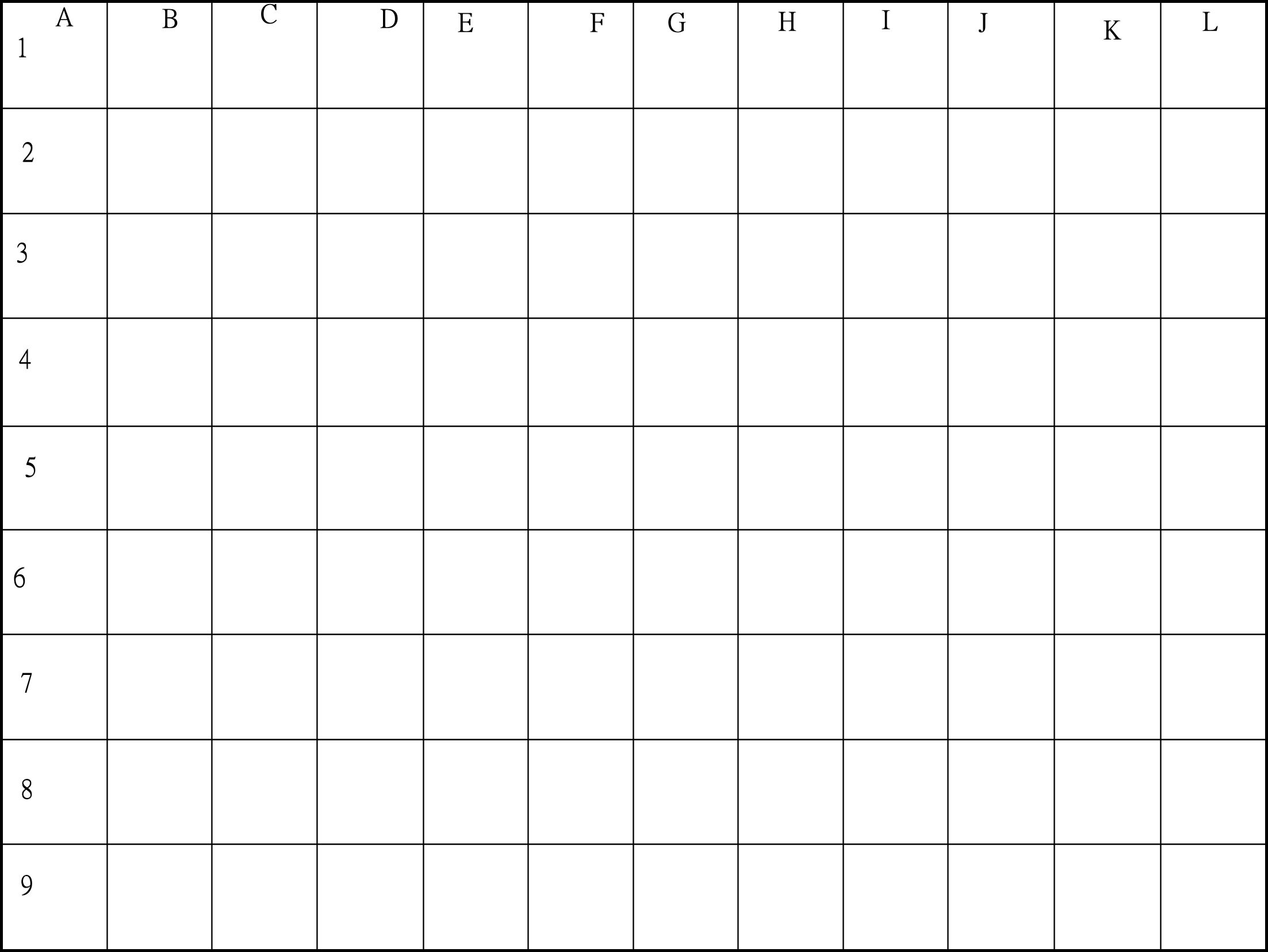 Drawing Grid Pictures