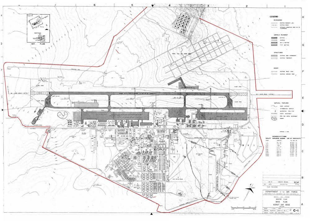 medium resolution of brett watterson sent me this map of korat rtafb which he highlighted the full perimeter