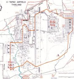 map of u tapao rtafb  [ 1647 x 1272 Pixel ]