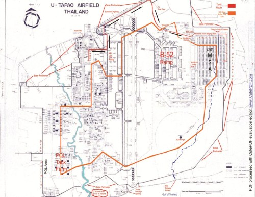 small resolution of map of u tapao rtafb