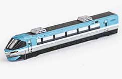 Maqueta 3D reciortable del tren Kuroshio 283. Manualidades a Raudales.