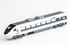Maqueta 3D imprimible del tren Thunderbird 681. Manualidades a Raudales.