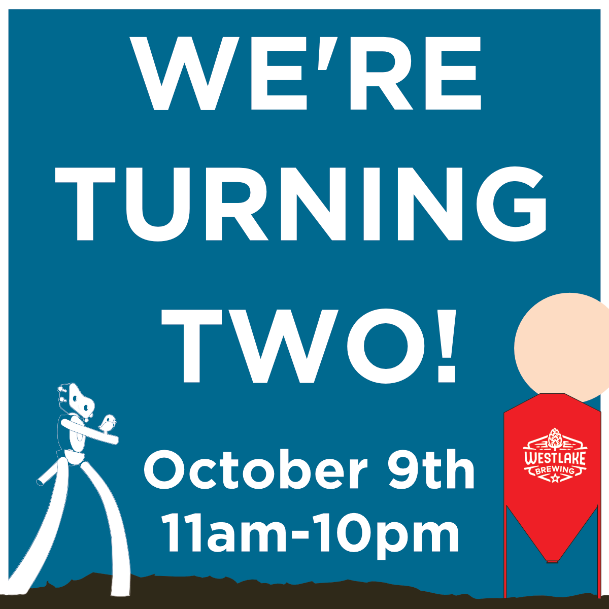 We're Turning Two!