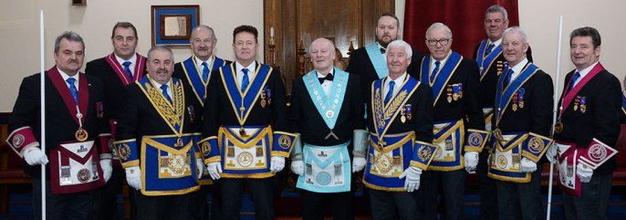 Pictured from left to right, are: Keith Halligan, Scott Devine, Chris Butterfield, David Cole, Peter Schofield, Geoff Careless, Michael Cole, Jim Wilson, David Kenworthy, John Eccles, Steve Plevey and Phil Burrow.