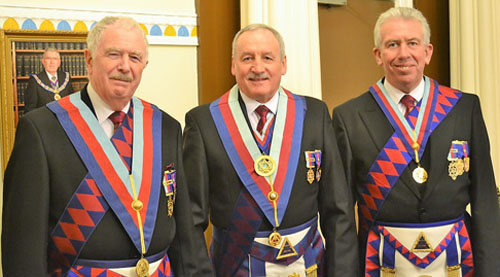 Pictured from left to right, are: John Roberts, Sam Robinson and Mark Matthews.