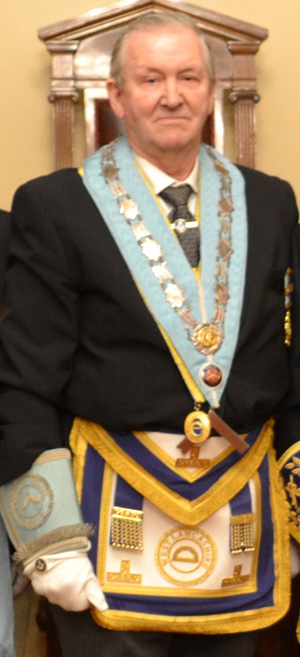 WM of Minerva Lodge Jack Poller