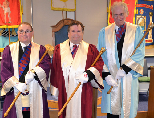 Pictured from left to right, are: Jim Stewart, Phil Newby and Peter Wood.