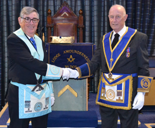 A celebration for a truly remarkable Mason
