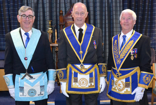 Pictured from left to right, are: David Emery, Barry Seedhouse and Jim Wilson.