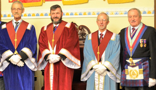 Pictured from left to right, are: Joe Waldron, Robbie Fitzsimmons, David Southward and Sam Robinson.