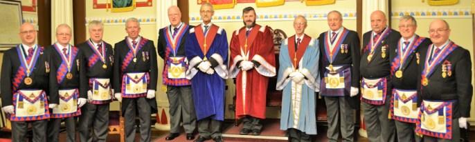 Pictured from left to right, are: Ian Lynch, Chris Maloney, Dave Johnson, Mark Matthews, Steve Walls, Joe Waldron, Robbie Fitzsimmons, David Southward, Sam Robinson, John Goodrum, Ian Black and John Gibbon.