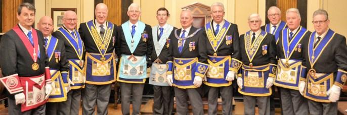 Pictured from left to right, are: John Walters, David Scott, Mike Dutton, Steve Walls, John Bruffell, Chris Bruffell, Robert Wright, Mark Matthews, Tom Lovatt, David Kenworthy, Tom Bradfield Kay and Ray Moore.