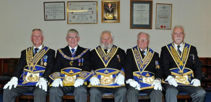 A wonderful celebration for Tom Jackson (centre)