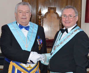 A veritable feast of ritual at Vale Lodge