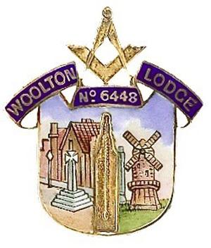 The Woolton Lodge emblem.