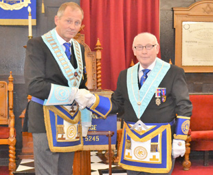 Praise a-plenty at Torrisholme Lodge installation