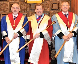 Kevin leads Grand Stewards' Chapter
