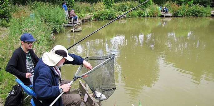 A lovely days fishing at Charity Farm Fishery in June 2018.