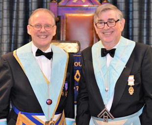 A special year for the new WM of Lodge Amounderness