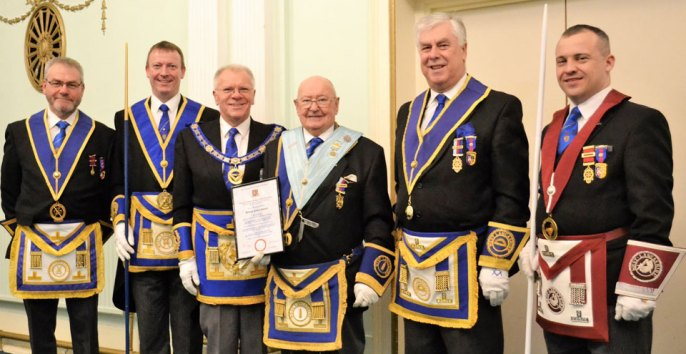 Pictured from left to right, are: Barry Fletcher, Jason Dell, Derek Parkinson, Bill Shuker, Dave Johnson and Phil Brown.