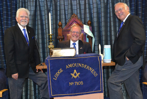 Pictured from left to right, are: David Randerson, Ian Cuerden and David Ogden.