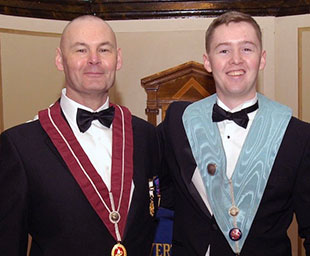 Father installs son at Everton Lodge