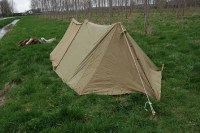 WWII US Army airborne Shelter half Tent dated early | eBay