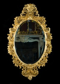Rococo Giltwood Ornate Antique Wall Mirror | Westland London