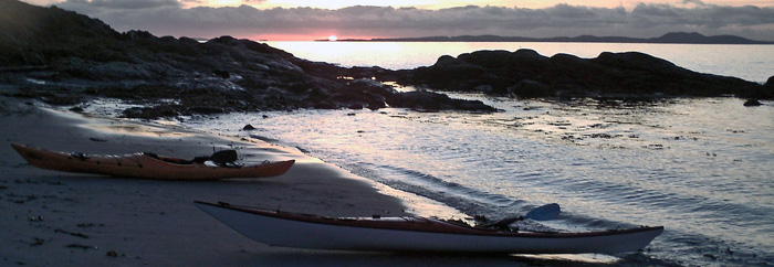 December-Sunset-over-Gigha-from-Ronachan-Point