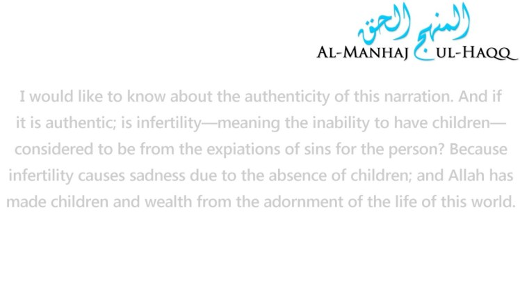 Infertility an expiation of Sins