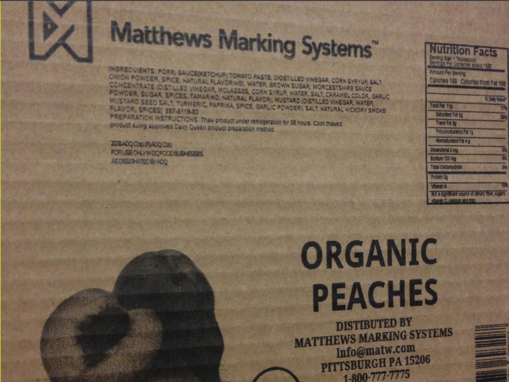Matthews Marking Systems High Resolution Inkjet Printing