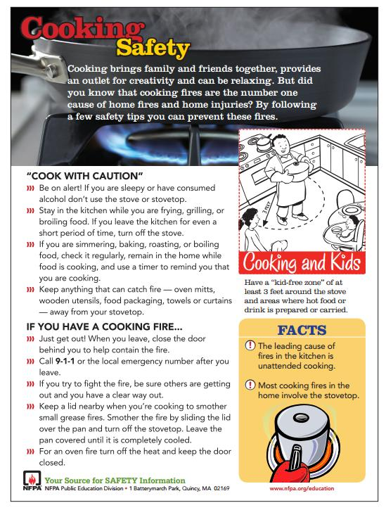 Cooking Safety Guide