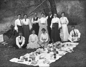 1910 Sunday School Picnic Westminster Presbyterian Church
