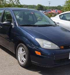 2003 ford focus se sedan 4d [ 2464 x 1632 Pixel ]