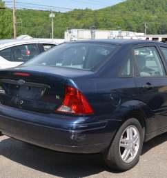 2003 ford focus se sedan 4d full [ 2464 x 1632 Pixel ]
