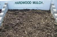 Dark Double Shredded Hardwood Mulch - Westminster Lawn