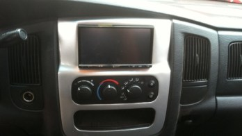 Navigation in a 2002-2005 Dodge Ram