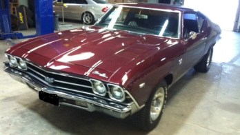 1969 Chevelle SS gets modern stereo system