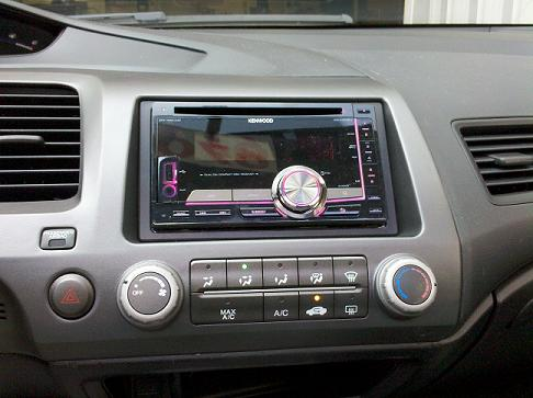 Install Of A New Cd Player In A 2006 2011 Honda Civic WSS